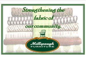 Look for this image on our homepage & also as a facebook tab! Enter your favorite or vote for an existing local not-for-profit to win $1000 from Millspaugh Furniture